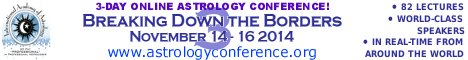 Breaking Down the Borders 3 : November 14-16, 2014 : Three-day ONLINE internet astrology conference