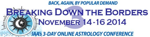 IAA Online Astrology Conference 2012: Breaking Down the Borders 2 : November 30 - December 2, 2012