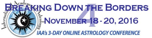 Breaking Down the Borders 4 : November 18-20, 2016 : Three-day online astrology conference